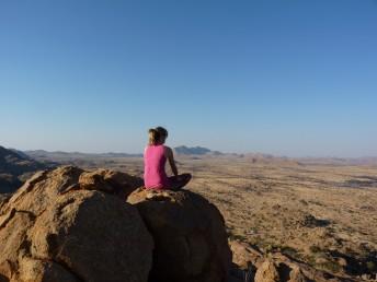 Aussicht Namibia