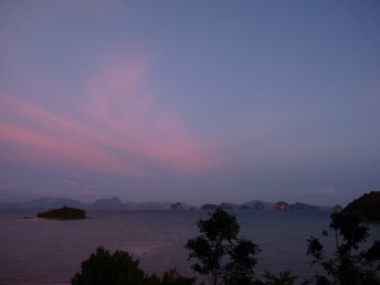 Sonnenuntergang Koh Yao Noi