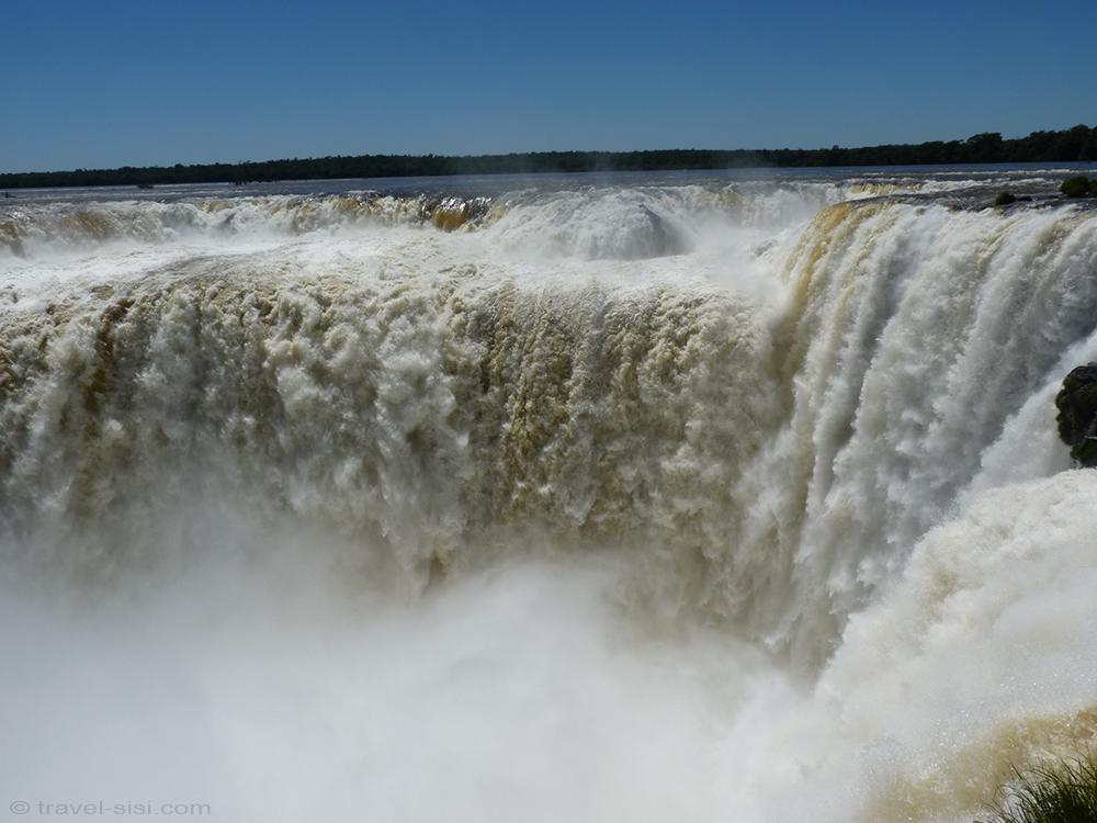 Iguazu Fälle Argentinien hautnah