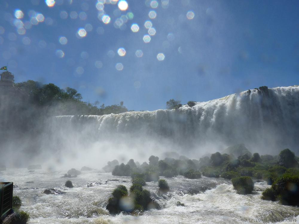 Iguazu Fälle Brasilien Wasserdampf