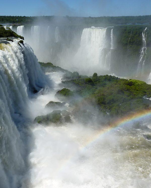 Iguazu Wasserfälle in Brasilien und Argentinien