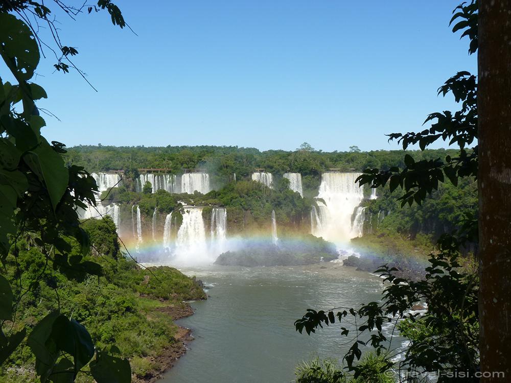 Iguazu Fälle Brasilien