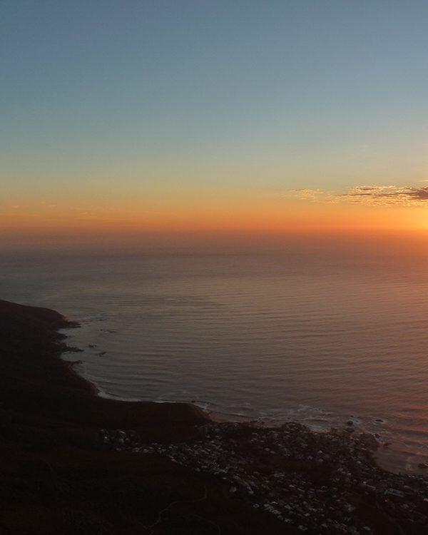 Wanderung & Sonnenuntergang auf dem Tafelberg