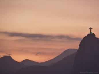 Sonnuntergang Rio de Janeiro