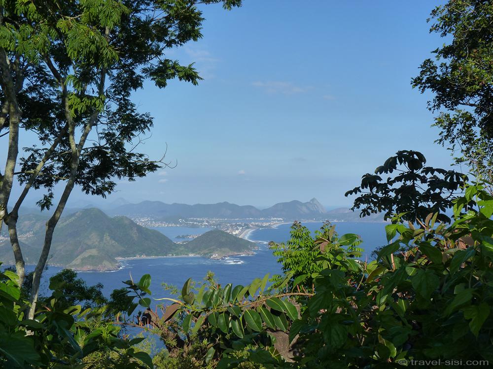 Tropisches Ambiente auf dem Zuckerhut