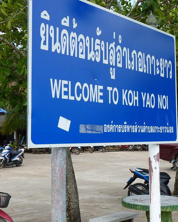 Yoga Retreat Thailand: Anreise nach Koh Yao Noi