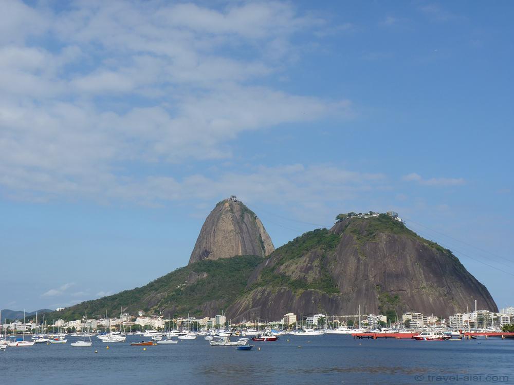 Zuckerhut von Botafogo aus