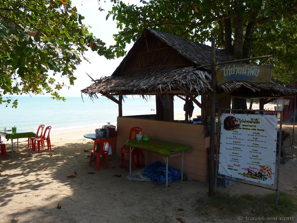 Beach Restaurant Koh Yao Noi