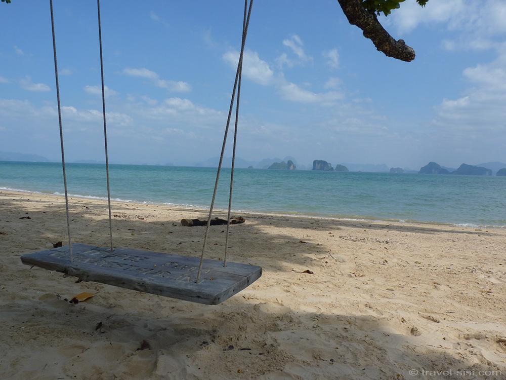 Chillplatz auf Koh Yao Noi