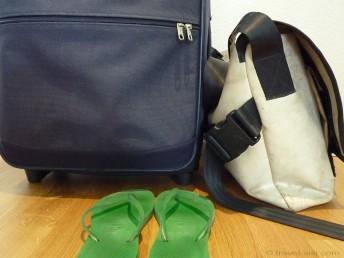 Das Gepäck der Travel Sisi