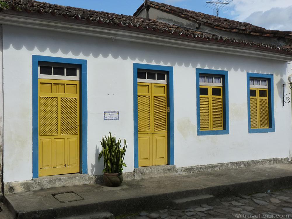 Schöne Häuser in Paraty