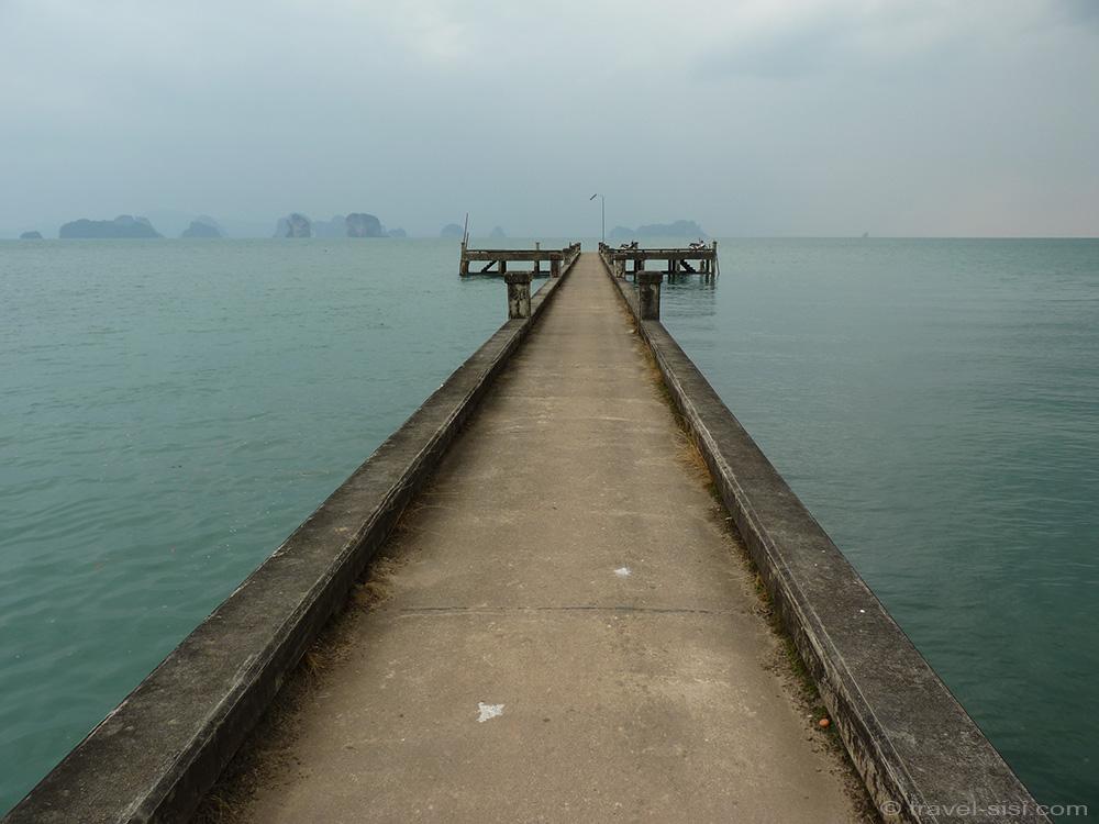 Steg auf Koh Yao Noi