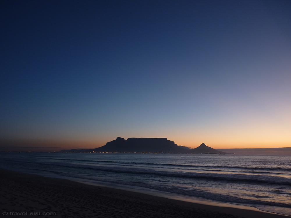 Abendstimmung Traumstrand Kapstadt