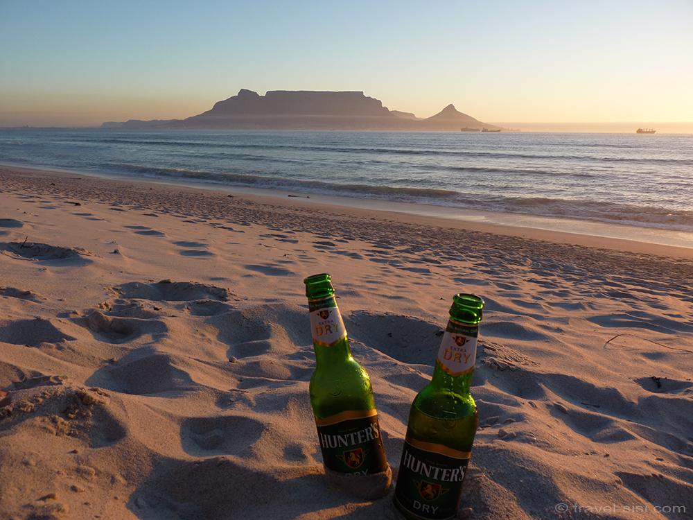 Sundowner Traumstrand Kapstadt