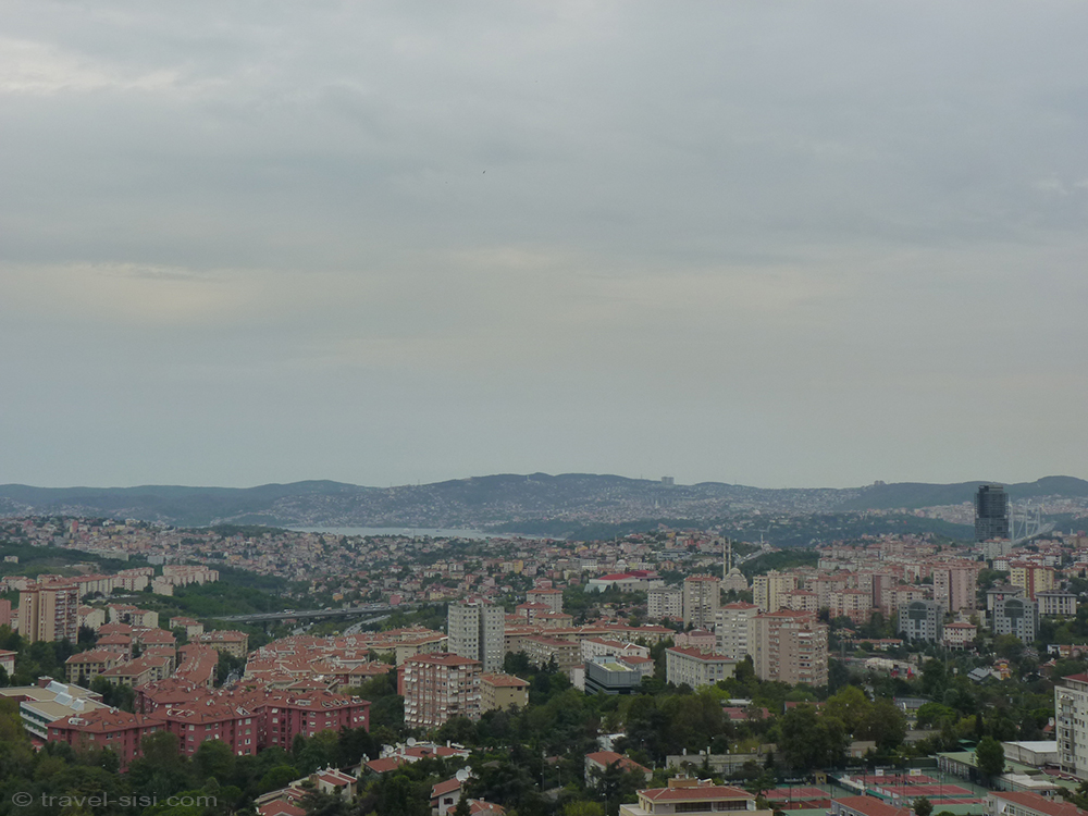Aussicht Executive Zimmer Mövenpick Istanbul