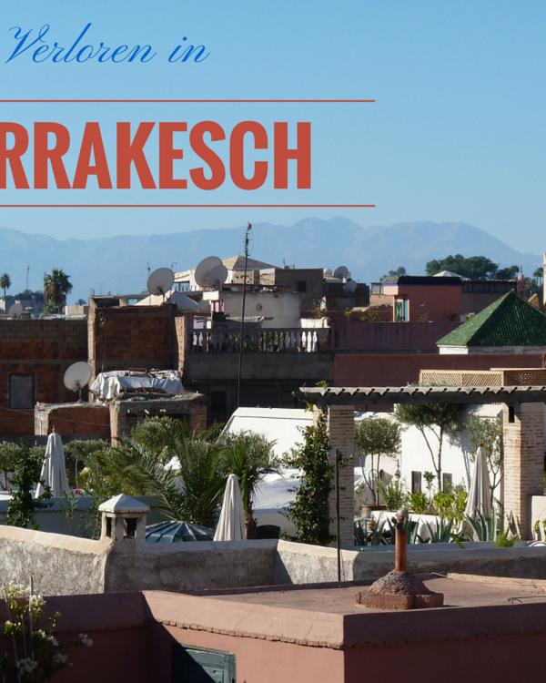 Die Tücken der Medina von Marrakesch