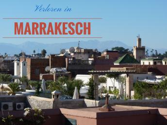 Blick über die Medina von Marrakesch