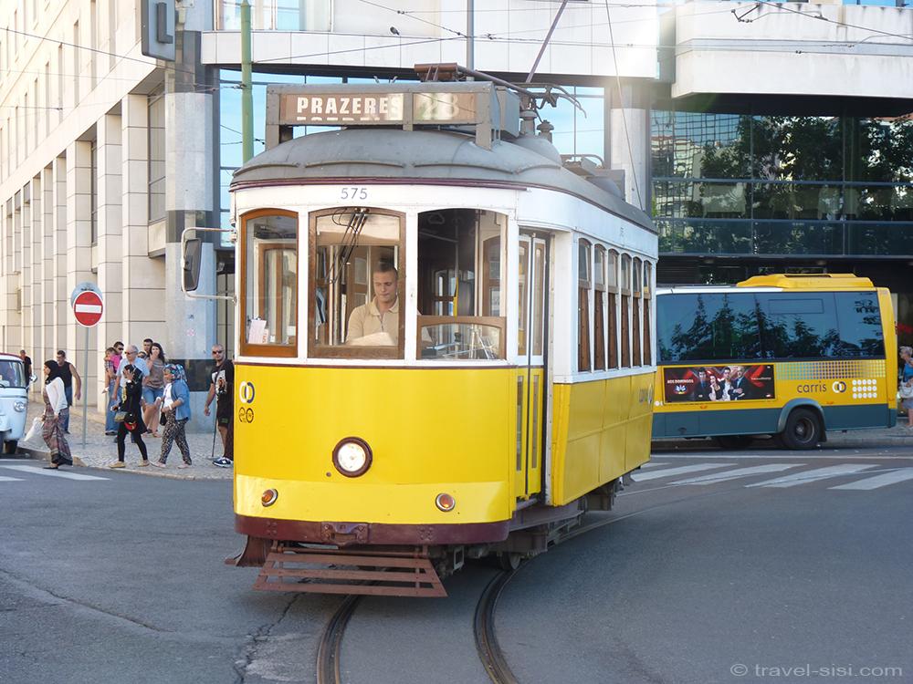 Strassenbahn 28 in Lissabon