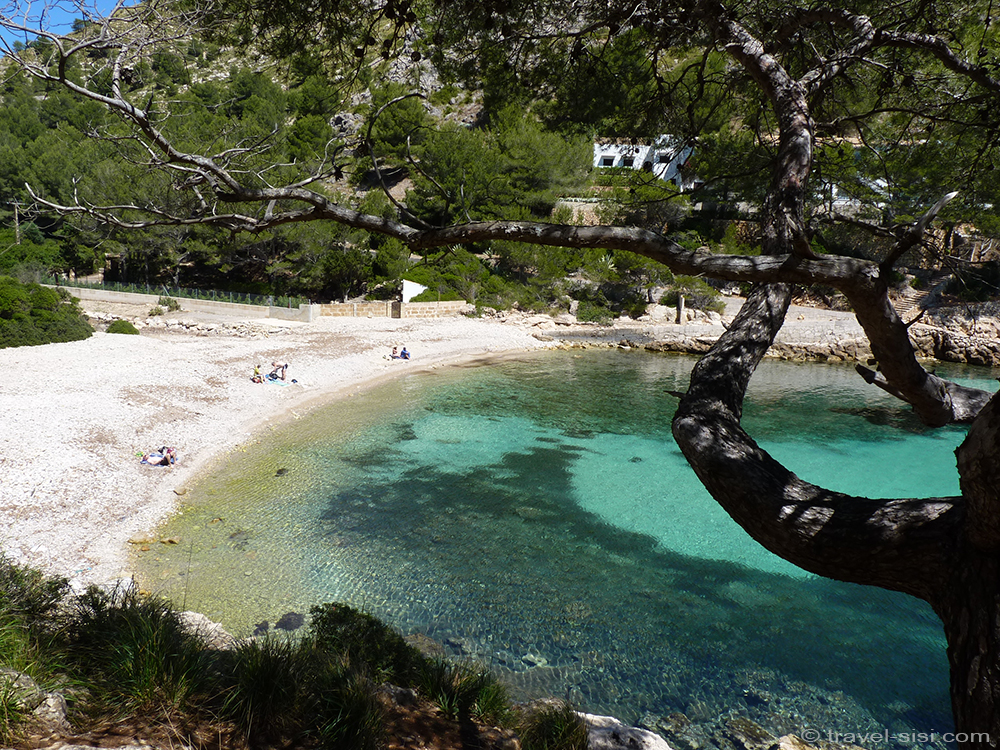 Blick auf die Cala Murta Mallorca