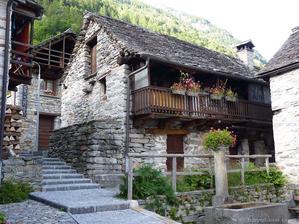 Sonogno Valle Verzasca Tessin