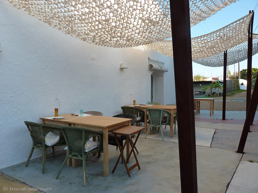 Companhia das Culturas Algarve Frühstücksplatz