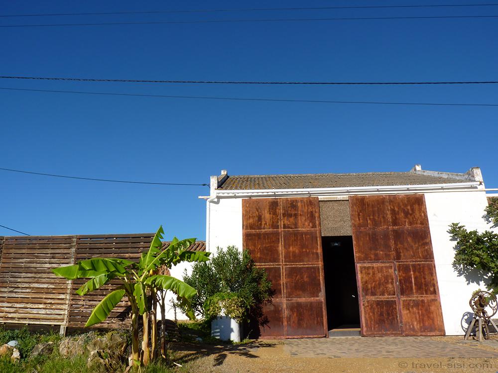Companhia das Culturas Algarve umgebaute Garage