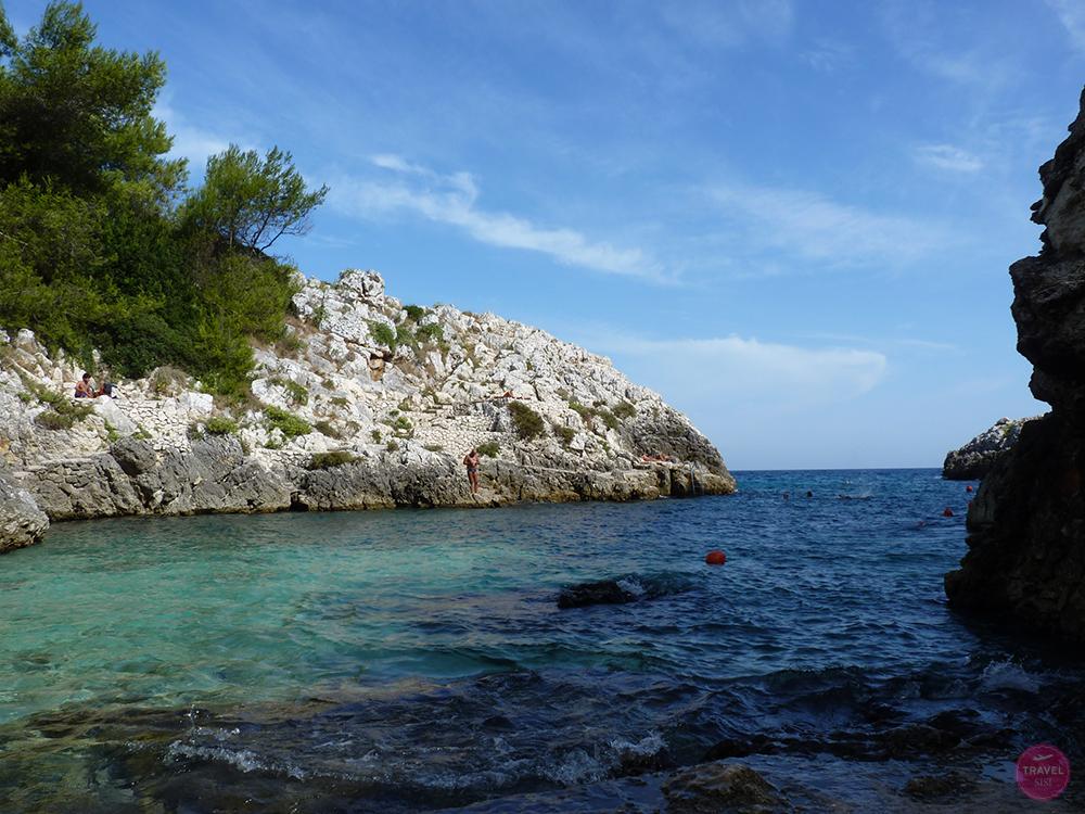 Acquaviva Bucht in Apulien