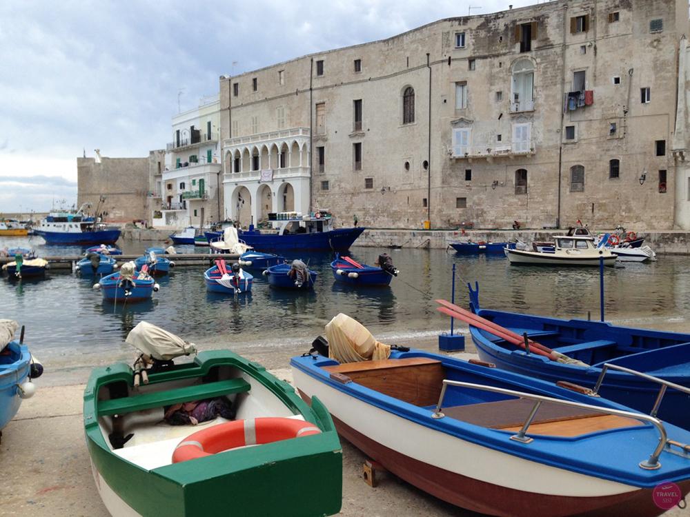 Alter Fischerhafen in Monopoli in Apulien