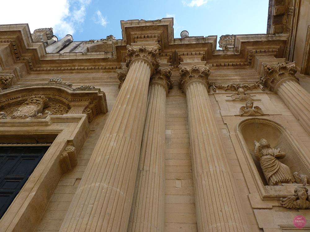 Barocke Gebäude in Lecce in Apulien