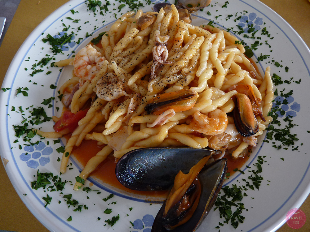 Essen in Apulien