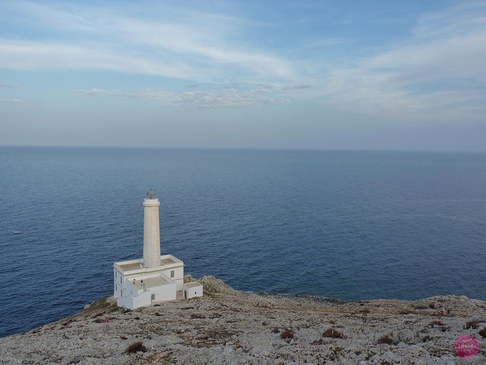 Leuchtturm bei Otranto in Apulien