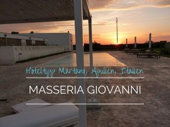 Masseria Giovanni Apulien