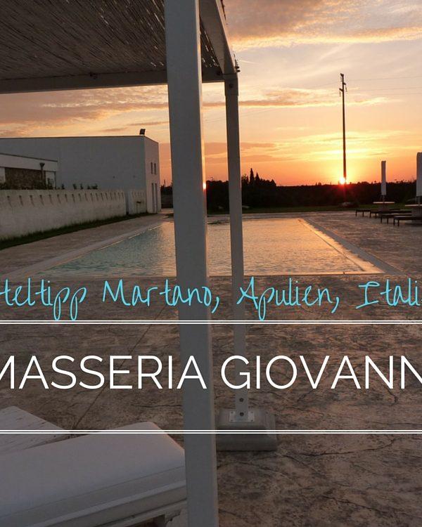 Masseria Giovanni: Eine trendige Masseria in Apulien