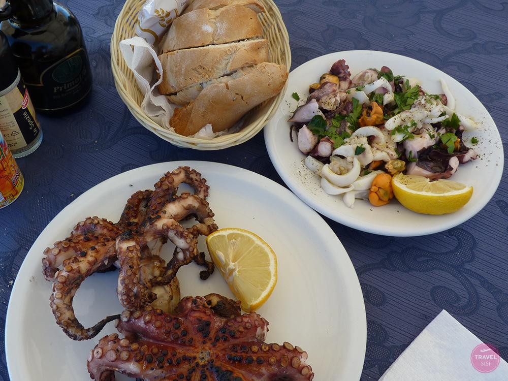 Meeresfrüchte in Apulien