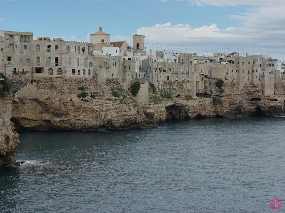 Polignano a Mare in Apulien