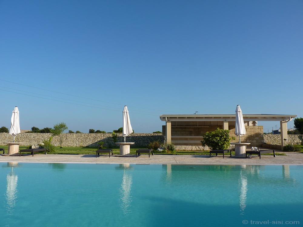 Pool Masseria Giovanni Apulien