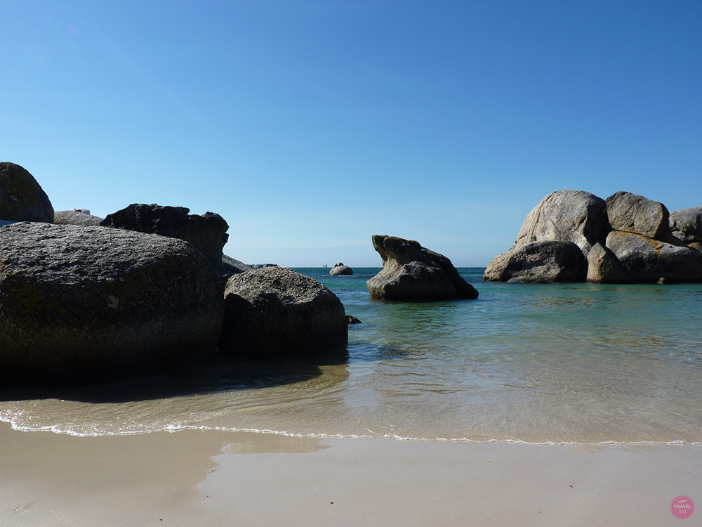 Boulders Beach bei Simons Town in Kapstadt