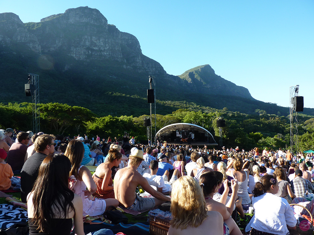 Kirstenbosch Summer Sunset Concerts in Kapstadt