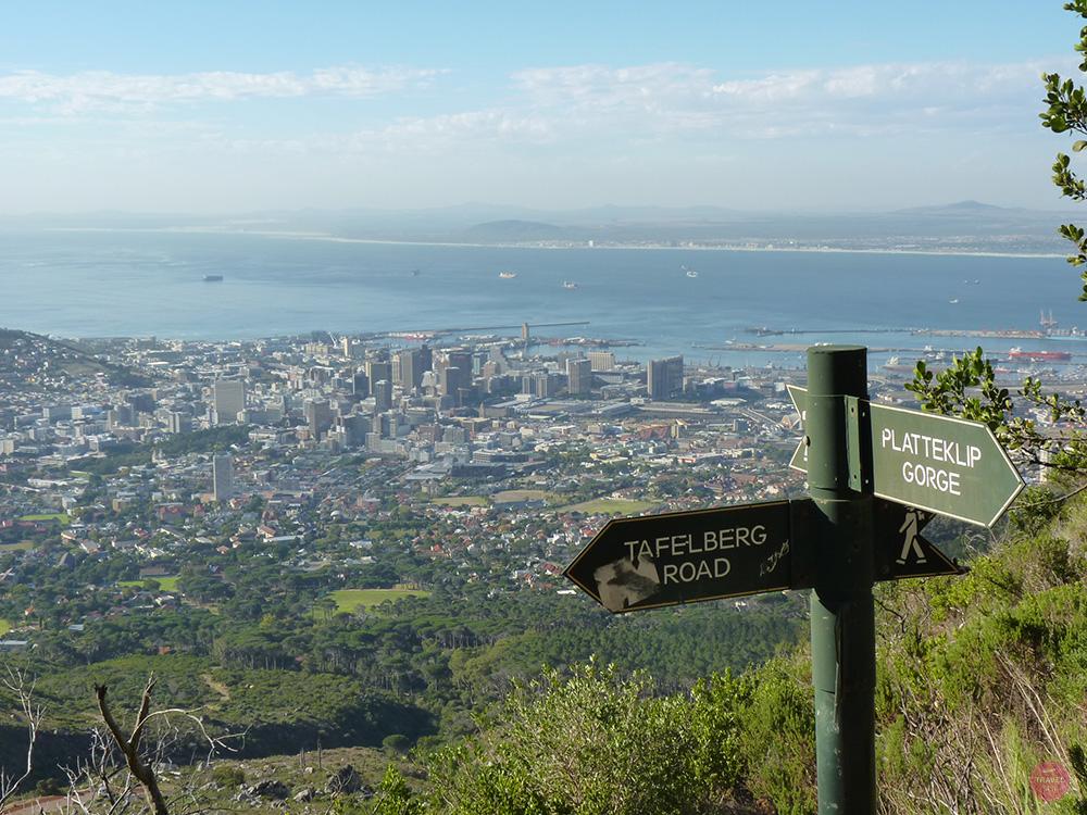 Wanderung auf den Tafelberg mit Aussicht auf Kapstadt