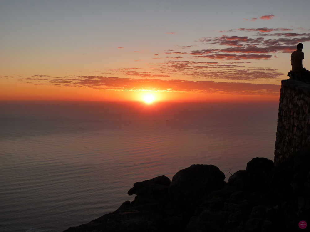 Sonnenuntergang Tafelberg