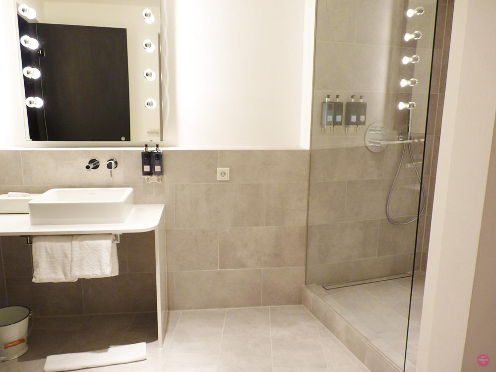 Badezimmer Ruby Marie Hotel Wien