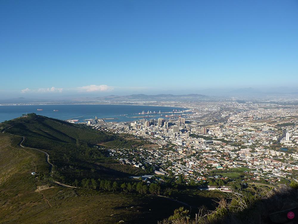 Blick vom Lions Head auf Kapstadt