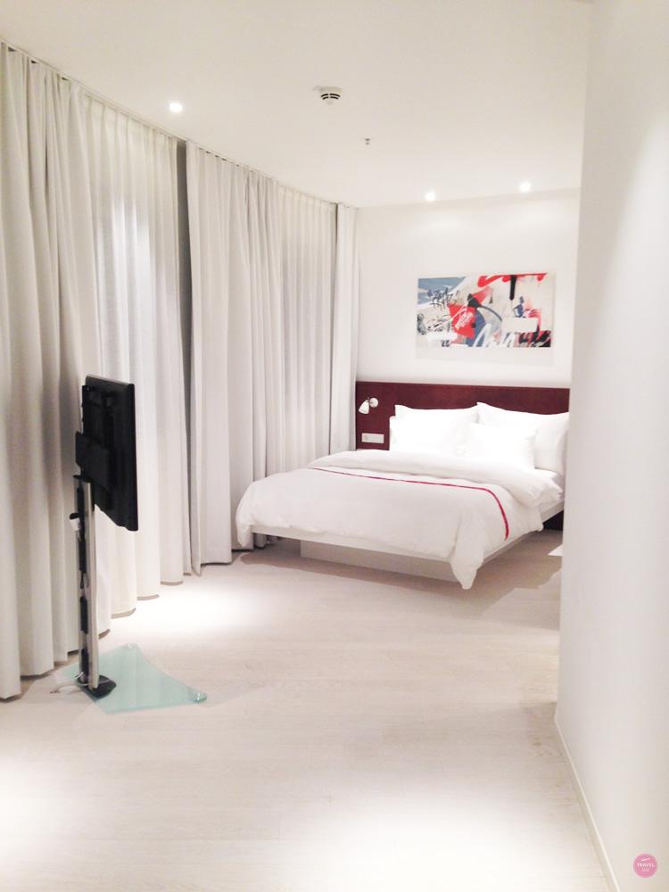 Schlafzimmer im Ruby Marie Hotel in Wien