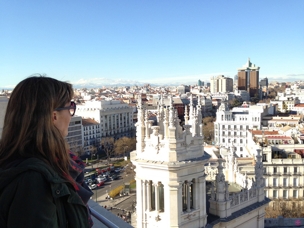 Reisetipps Madrid Aussicht vom Palacio de Cibeles