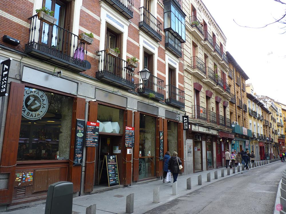 Reisetipps Madrid Calle de la Cava Baja