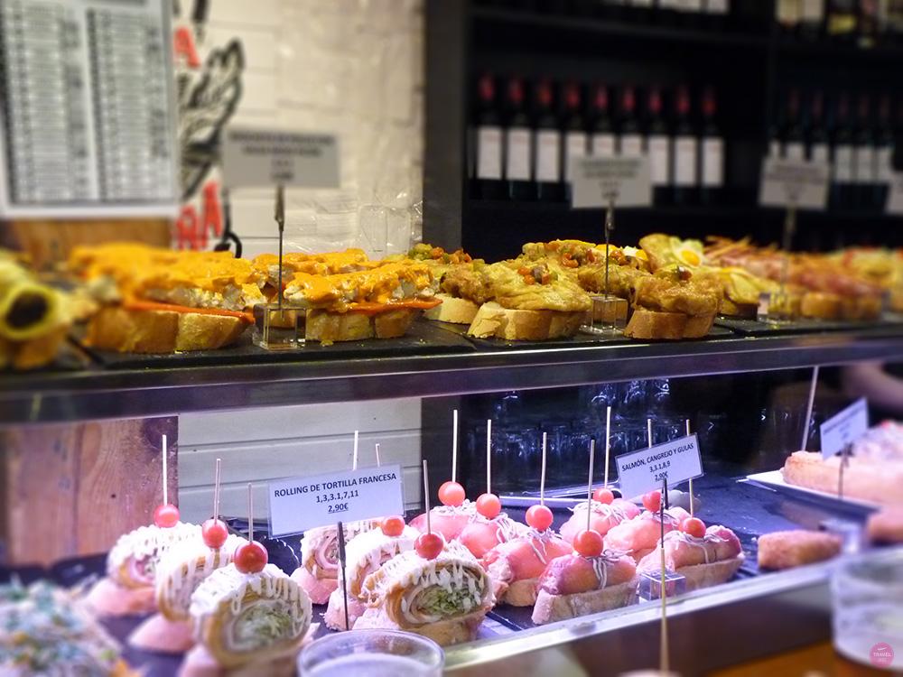 Reisetipps Madrid Tapas in der Calle de la Cava Baja