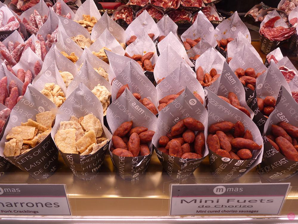 Reisetipps Madrid Tapasstand Mercado de san Miguel