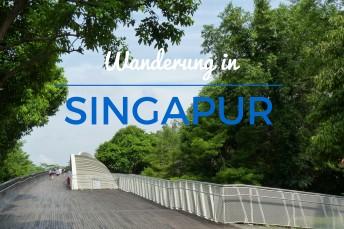 Wanderung in Singapur durch die Southern Ridges