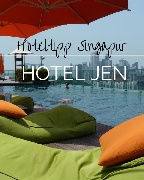 Hotel Jen: Über den Dächern von Singapur