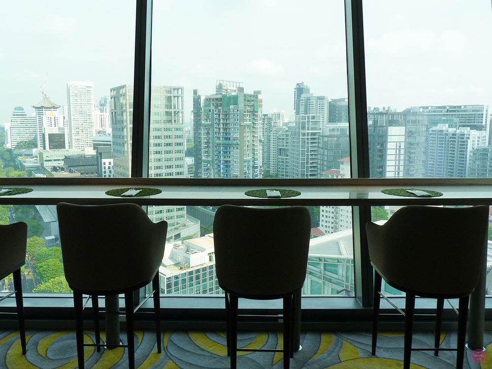 Hotel Jen Orchardgateway Singapur Aussicht Club Lounge